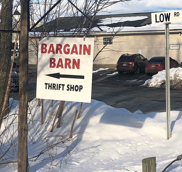 Bargain Barn in Sharon